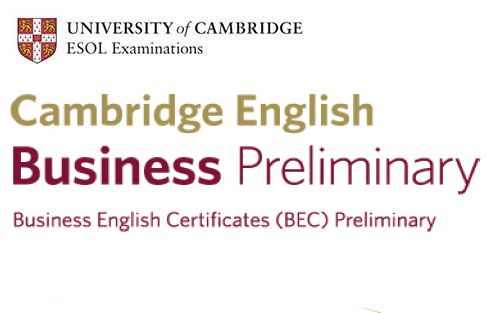 Cambridge English: Business Preliminary